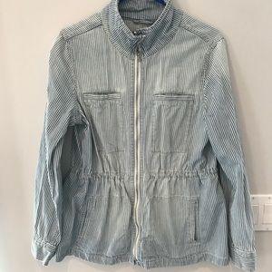 Gap denim utility jacket size L new without tags